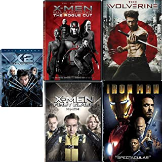 Hero Days Comic Movie Pack Wolverine / Iron-Man / X-2 United / X-Men First Class / Future Past Rogue Cut Marvel Superhero