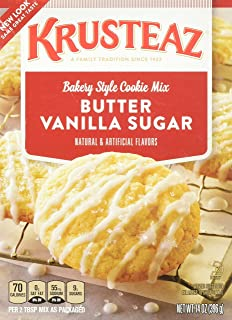 Krusteaz Bakery Style Cookie Mix, Butter Vanilla Sugar, 14 Ounce Pack of 2