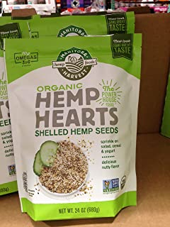Manitoba harvest organic hemp heart 24 oz. A1