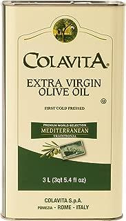 Colavita Mediterranean Extra Virgin Olive Oil Tin, 101.5 Ounce