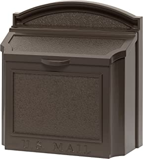 Whitehall 16138 Wall Mailbox - French Bronze (Mialbox Only(No Plaque), French Bronze)