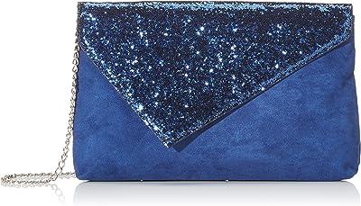 N.V. Bags Damen K903 Clutch, 4x16x26 Centimeters