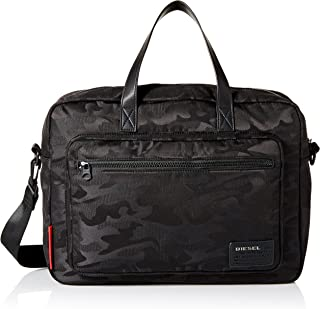 Diesel Men's F-Discover Briefcase, Black, UNI
