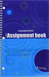 Hammond And Stephens Hammond & Stephens Daily Student Assignment Planner, 7 x 11 Inches, 192 Pages - 1473687