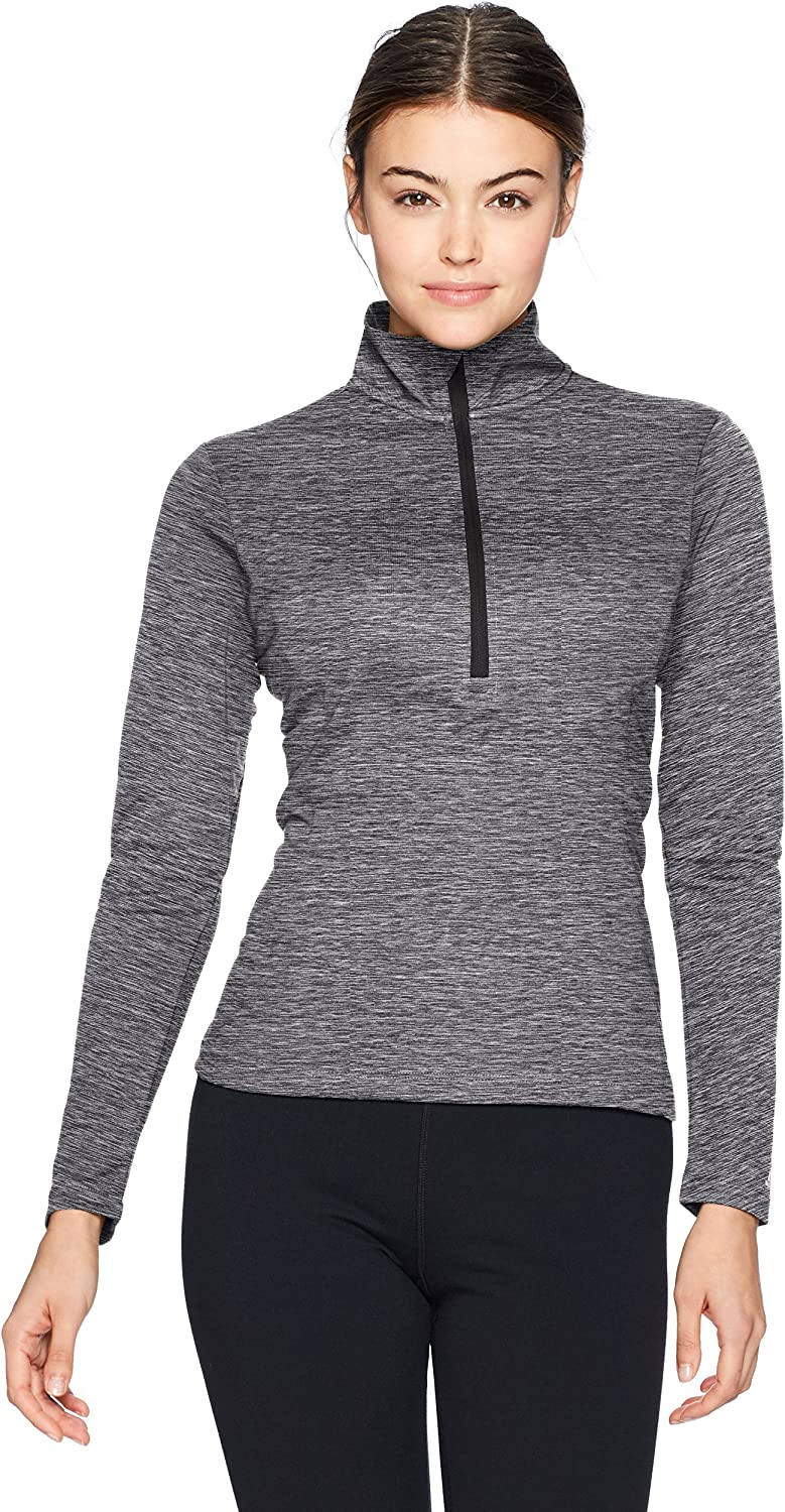 Russell Athletic Womens Lightweight Performance 1//4 Zip Warm Up Jacket