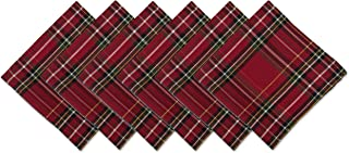 DII CAMZ10906 Oversized 20x20 Napkins, Perfect for Dinner Parties, Christmas, Everyday use, Pack of 6, Holiday Metallic Pl...