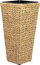 Vanage Jardinero de Plástico, Maceta para Plantar en el Jardín, Gris; Noir; Beige