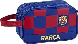 FC Barcelona Accesorio de Viaje- Neceser, Niños, Multicolor, 26x15x12.5