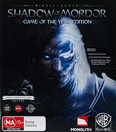Middle Earth: Shadow Of Mordor XBOX One Game of the year