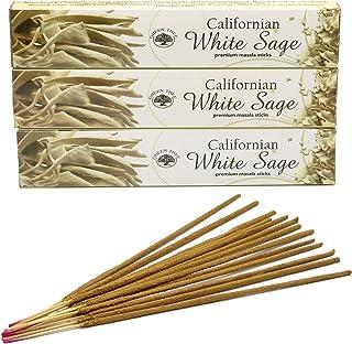 Encens Green Tree - White Sage - Sauge Blanche – lot de 3 boites