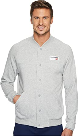 New Balance - NB Athletics Snap Front Fleece