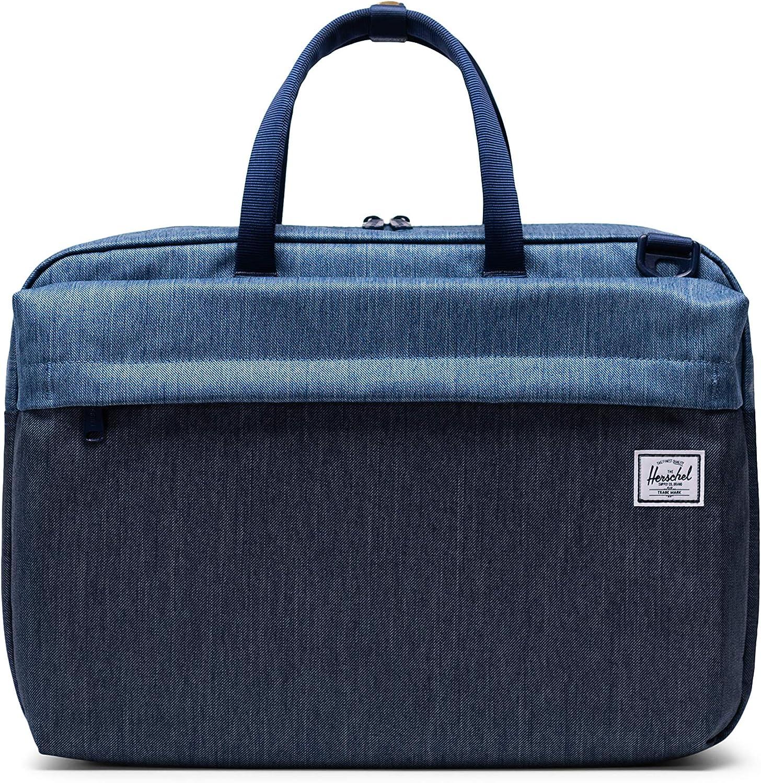 Herschel Sandford Cheap favorite SALE Start Laptop Messenger Denim Bag Faded Indigo