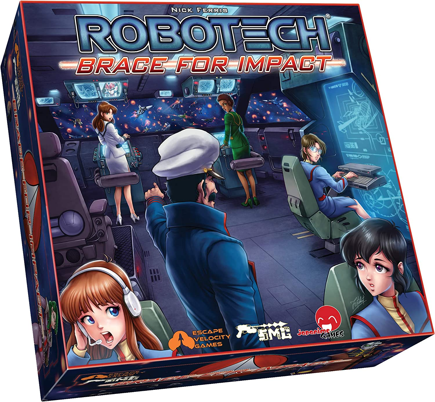 Japanime Games Robotech: All items trend rank in the store Impact Brace for
