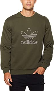 Adidas Men's Outline Crew Sweatshirt