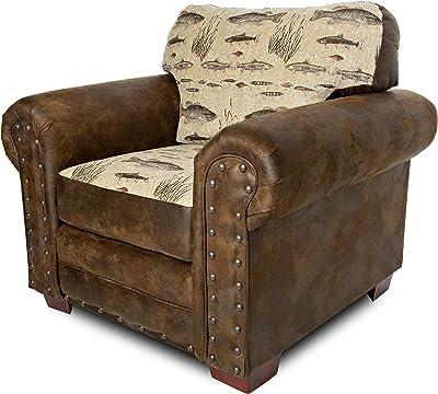 Amazon.com: Brasil muebles 1455 Cascada Back Sillón ...