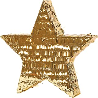 Gold Foil Star Pinata
