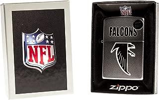 Zippo Lighter NFL Throwback Atlanta Falcons Satin Chrome
