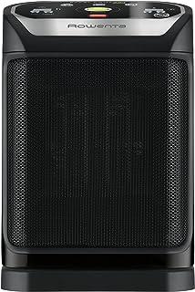 Rowenta Excel Comfort Eco Safe Calentador de ventilador Interior Negro 2000 W - Calefactor (Calentador de ventilador, Cerámico, 1,5 m, IP20, Interior, Negro)