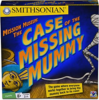 Discovery Bay Games Smithsonian Mission Museum: Case of The Missing Mummy