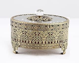 Best antique brass trinket box Reviews