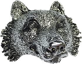 Boy Scout Neckerchief Slide Wolf Metal Woggle Item No.WK03