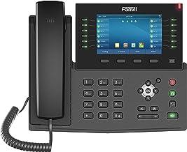 $149 » Fanvil X7C Enterprise VoIP Phone, 5-Inch Color Touch Screen, 20 SIP Lines, Dual-Port Gigabit Ethernet, Power Adapter Not I...