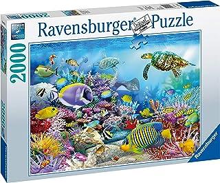 Ravensburger- Puzzle 2000 pièces Récif de Corail majestueux Adulte