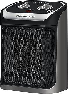 Rowenta Mini Excel Calentador de ventilador Interior Negro, Gris 1800 W - Calefactor (Calentador de ventilador, Cerámico, 1,5 m, IP20, Interior, Negro, Gris)