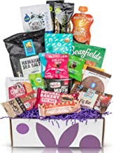 Happy Birthday Snacks Gift Box: Premium Healthy Snack Assortment Sweet & Savory Snacks, Low Sugar Treats Birthday Gift for All Ages