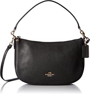 COACH Womens Pebble Chelsea Crossbody