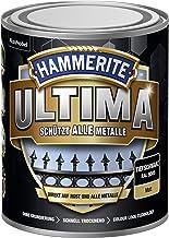 5379754 Hammerite ULTIMA metaalbescherming lak roest 750ml mat diepzwart RAL 9005