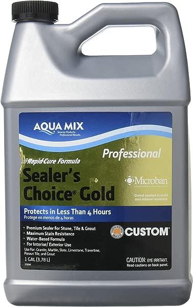 Aqua Mix Sealer S Choice Gold Gallon