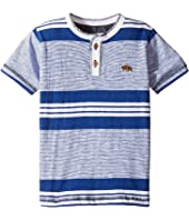 Lucky Brand Kids - Short Sleeve Jetty Henley in Slub Jersey (Toddler)