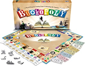 Bookopoly Board Game by Late for the Sky (English Manual)