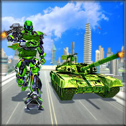 Tank Robot Transformation - Robot Tank Games