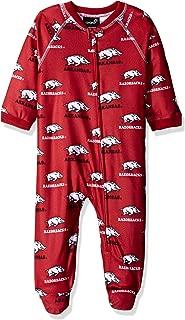 NCAA by Outerstuff NCAA boys NCAA by Outerstuff NCAA Newborn & Infant Raglan Zip Up Coverall