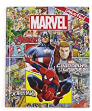 Marvel - Avengers, Guardians of the Galaxy, and Spider-man Look and Find Activity Book - Characters from Avengers Endgame Included - PI Kids - coolthings.us