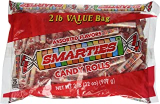Smarties Candy Rolls, Bulk, 2 Pound