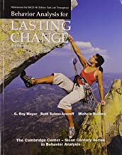 Behavior Analysis for Lasting Change, Third Edition
