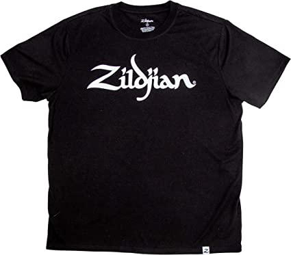 Avedis Zildjian Company Zildjian CLASSIC LOGO TEE BLACK SM ...