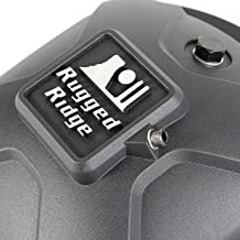 Rugged Ridge 16595.13 Black Boulder Aluminum Differential Cover for Dana 30