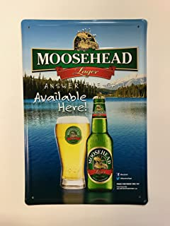 Moosehead Lager - Answer The Call - Metal Sign