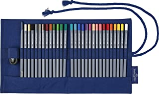 ファーバーカステル ゴールドファーバー アクア 水彩色鉛筆 ペンシルロール 27色セット 114652