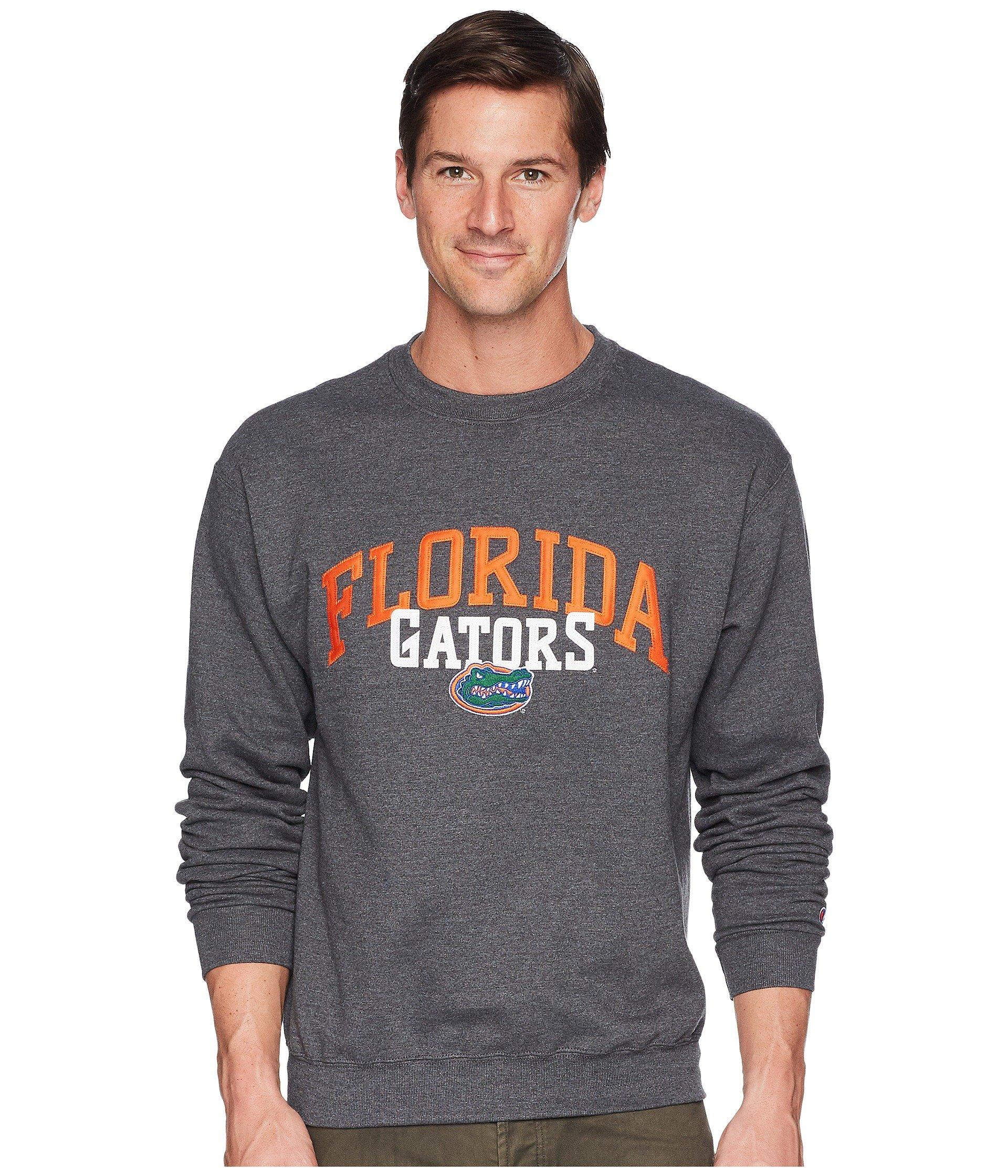 Buzo o Chaqueta Deportiva para Hombre Champion College Florida Gators Eco® Powerblend® Crew  + Champion en VeoyCompro.net
