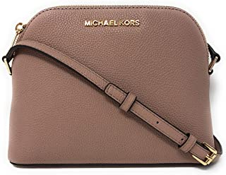 d280fa931d24 Michael Kors Adele Medium Dome Leather Crossbody Bag