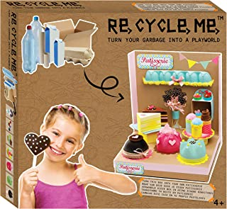Sponsored Ad - Buzzy ReCycleMe Patisserie Playworld | Turning Garbage into a Playworld | Eco-Friendly Project for Kids, Le...