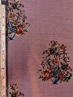Silk Fabric-Silk Prints-Printed Silks-Silks-Geneva Silk Print-Floral Silk Print-Limited yardage-Limited yardage