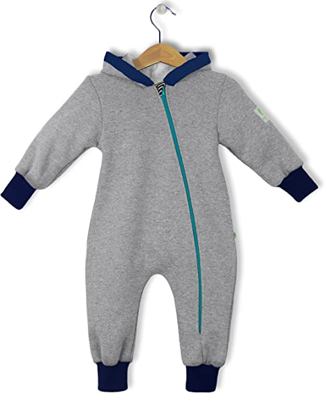 bubble.kid berlin Baby M/ädchen Jungen Unisex Hoodie Kapuzenjacke Jacke Made in Germany elastische B/ündchen Reisser Kinnschutz weicher Sweatshirt Zipfelkapuze