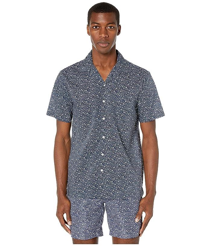 onia Vacation Shirt (Deep Navy) Men
