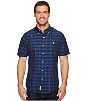 U.S. POLO ASSN. - Short Sleeve Slim Fit Striped Shirt